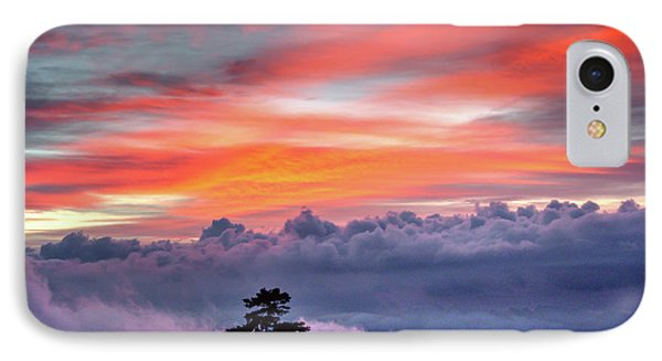 IPhone Case featuring the photograph Sunrise Over The Smoky's II by Douglas Stucky