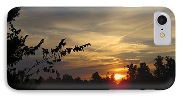 Sunrise Over The Trees IPhone Case by Craig Walters