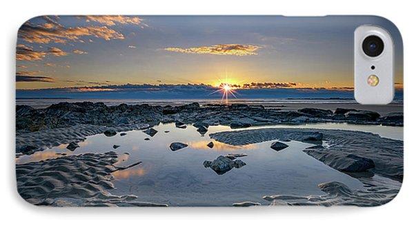 Sunrise Over Wells Beach IPhone Case by Rick Berk