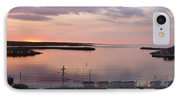 Sunrise Port Aux Basque, Newfoundland  IPhone Case by Joel Deutsch