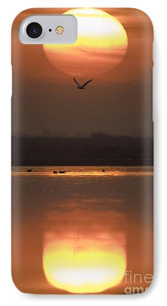 Sunrise Reflection IPhone 7 Case by Hitendra SINKAR