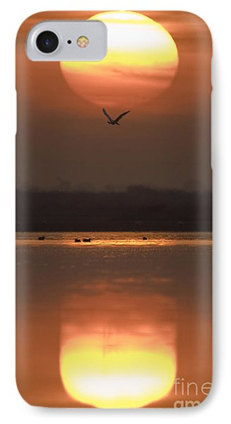 Sunrise Reflection IPhone Case by Hitendra SINKAR