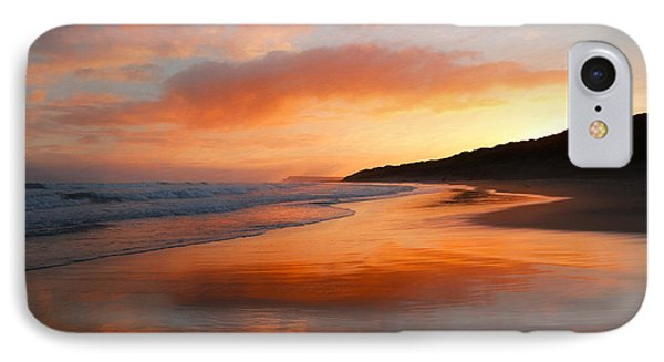 IPhone Case featuring the photograph Sunrise Reflection by Roy McPeak