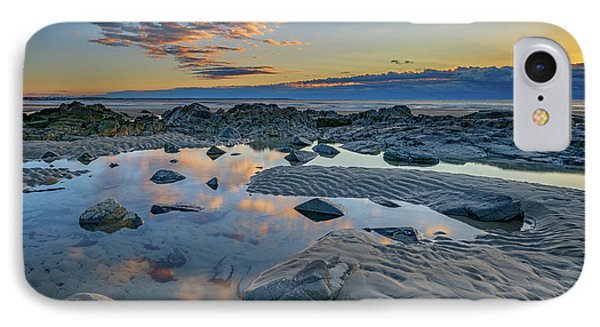 Sunrise Reflections On Wells Beach IPhone Case