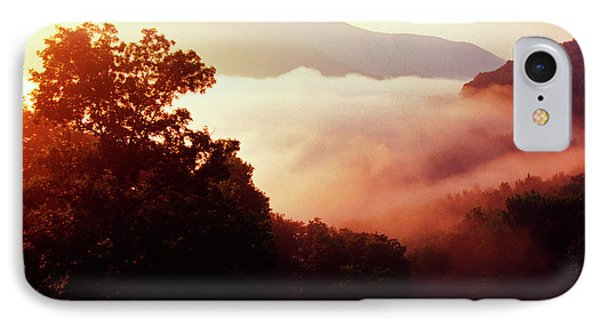 Sunrise Rich Mountain Phone Case by Thomas R Fletcher