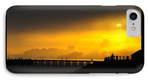 IPhone Case featuring the photograph Sunrise San Francisco by Steve Siri
