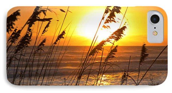 Sunrise Silhouette IPhone Case by Robert Och