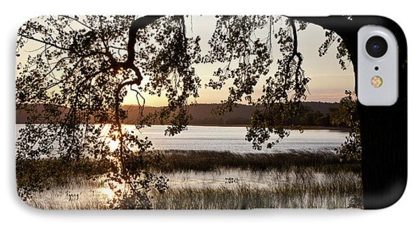IPhone Case featuring the photograph Sunrise Silhouette by Susan Cole Kelly
