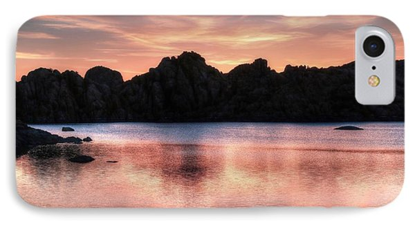 Sunrise Silhouettes IPhone Case by Donna Kennedy
