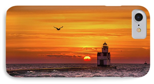 IPhone 7 Case featuring the photograph Sunrise Solo by Bill Pevlor