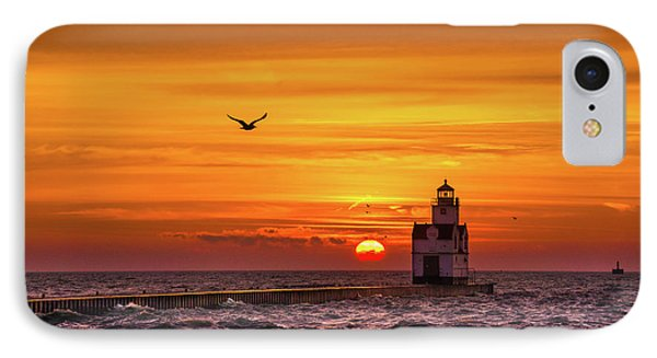 IPhone Case featuring the photograph Sunrise Solo by Bill Pevlor