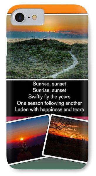 Sunrise Sunset IPhone Case by John Haldane