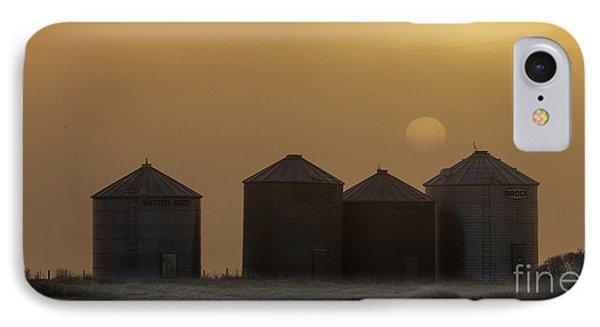 Sunrise Through The Fog IPhone Case by Brad Allen Fine Art