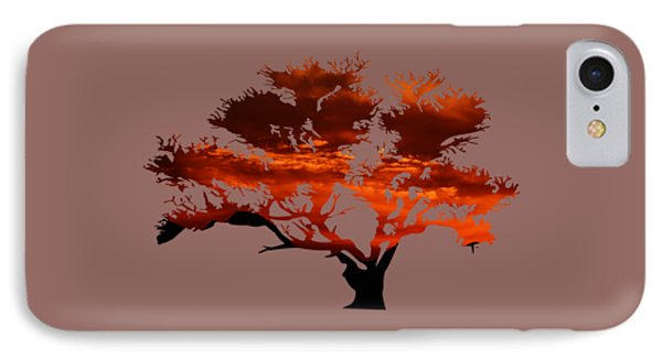 Sunrise Tree 2 IPhone Case
