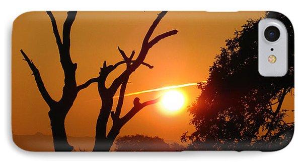 IPhone Case featuring the photograph Sunrise Trees by RKAB Works
