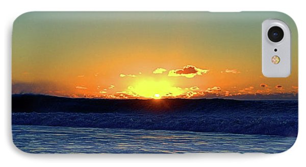 Sunrise Wave I I I IPhone Case by Newwwman