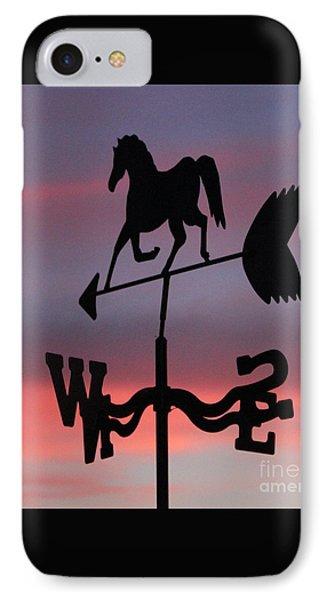 Sunrise Weathervane IPhone Case