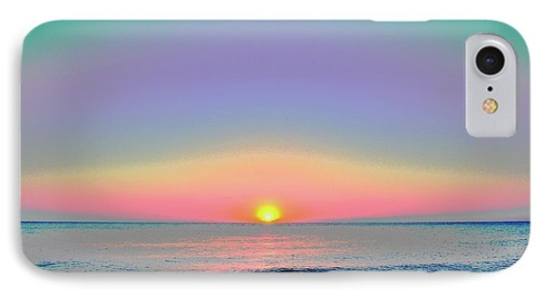 Sunrise With Digits Phone Case by Cloe Couturier