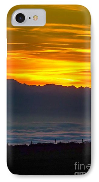 Sunset 2 IPhone Case by Jean Bernard Roussilhe