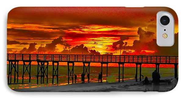 Sunset 4th Of July Phone Case by Bill Cannon