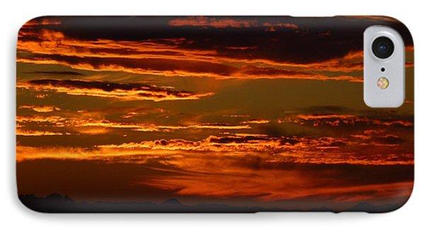 Sunset 5 IPhone Case by Jean Bernard Roussilhe