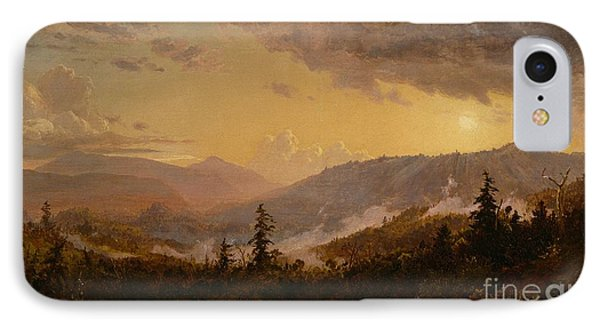 Sunset After A Storm In The Catskill Mountains IPhone Case