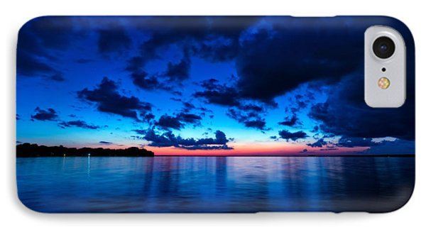 IPhone Case featuring the photograph Sunset After Glow by Christopher Holmes