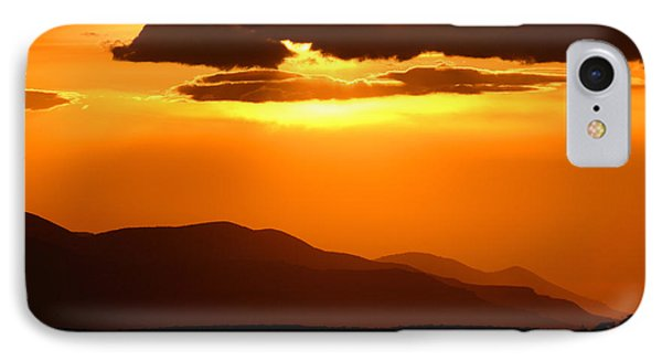 IPhone Case featuring the photograph Sunset Along Colorado Foothills by Max Allen