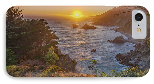 Sunset Along Highway 1 Big Sur California IPhone Case