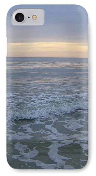 IPhone Case featuring the photograph Sunset Along Oak Island by Skyler Tipton