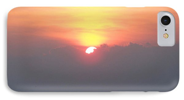 IPhone Case featuring the photograph Sunset And The Storm by Sandi OReilly