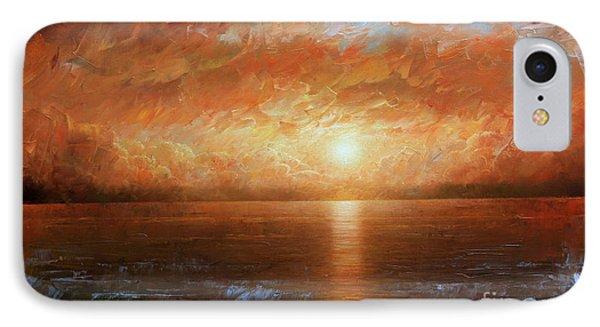 Sunset Phone Case by Arthur Braginsky