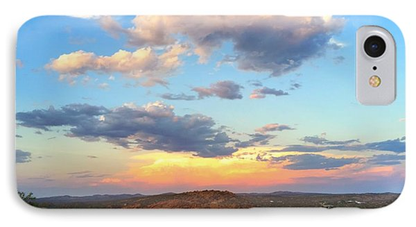 Sunset At Alice Springs #2 IPhone Case