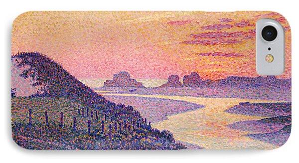 Sunset At Ambleteuse Pas-de-calais IPhone Case