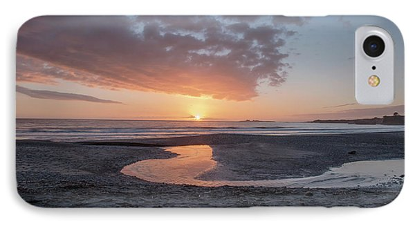 Sunset At Ano Nuevo IPhone Case by Bill Roberts