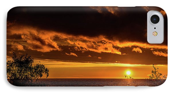 IPhone Case featuring the photograph Sunset At Bay Harbor by Onyonet  Photo Studios