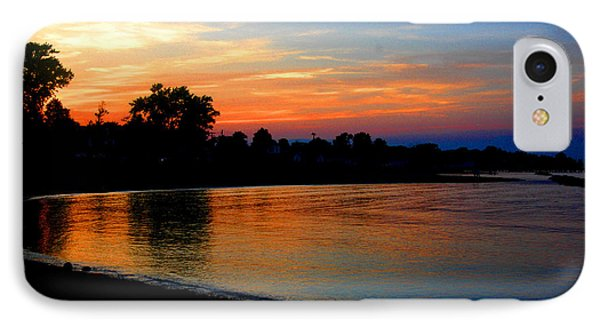 Sunset At Colonial Beach Cove IPhone Case by Clayton Bruster