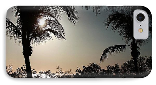 IPhone Case featuring the photograph Sunset At Flamingo 1 by Ellen O'Reilly