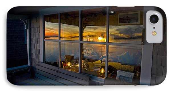Sunset At Fletchers Camp Phone Case by Charles Harden