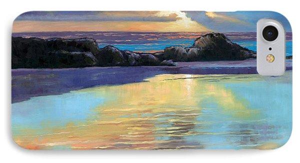 Sunset At Havika Beach Phone Case by Janet King