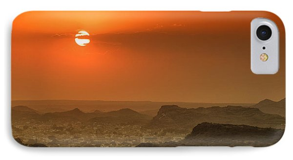 IPhone Case featuring the photograph Sunset At Jodhpur by Yew Kwang