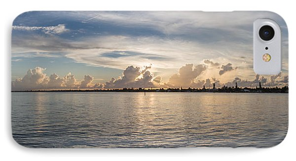 Sunset At Key Largo IPhone Case by Christopher L Thomley
