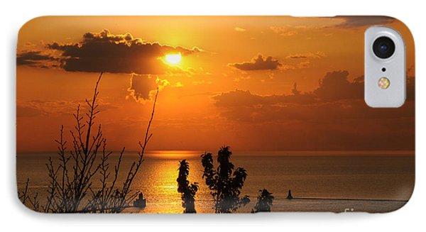 Sunset At Lake Huron IPhone Case