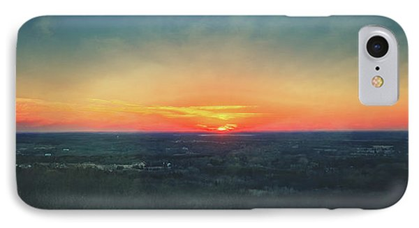 IPhone Case featuring the photograph Sunset At Lapham Peak #3 - Wisconsin by Jennifer Rondinelli Reilly - Fine Art Photography