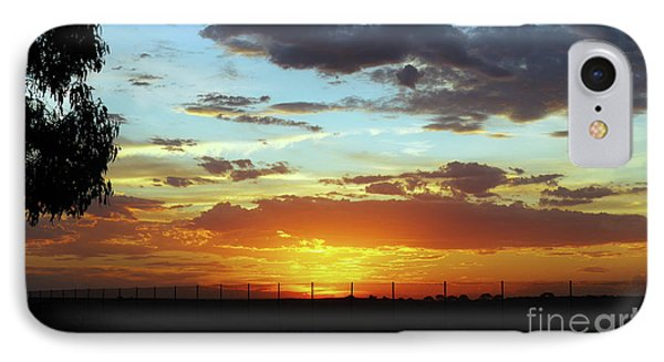Sunset At Little River Victoria IPhone Case by Lexa Harpell