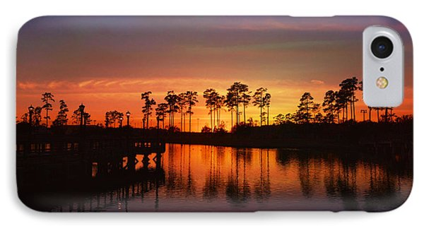 Sunset At Market Commons II IPhone Case