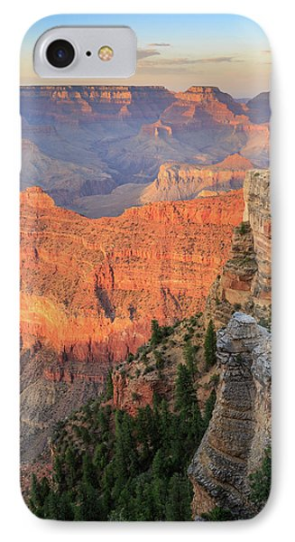 Sunset At Mather Point IPhone 7 Case by David Chandler
