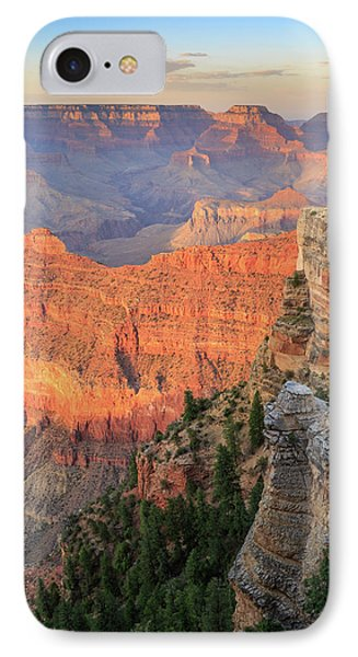 IPhone 7 Case featuring the photograph Sunset At Mather Point by David Chandler