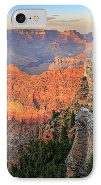IPhone Case featuring the photograph Sunset At Mather Point by David Chandler