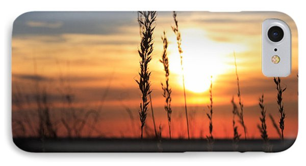 Sunset At Monument Hill Phone Case by Toni Hopper